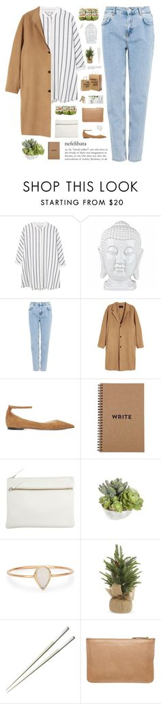 """""""fighting flames of fire"""" by cottonisth ❤ liked on Polyvore featuring MANGO, Pull&Bear, Jimmy Choo, Park House, Catbird, The White Company, Christofle, Witchery and Topshop"""