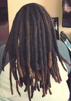 Beautiful thick locs More