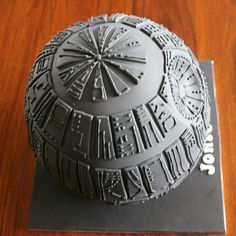 Star Wars Death Star Cake Tutorial