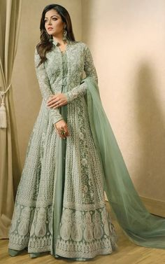 anarkali dress long gown,anarkali salwar suits for wedding,indian party wear for women anarkali Indian Gowns Dresses, Indian Fashion Dresses, Dress Indian Style, Indian Designer Outfits, Abaya Fashion, Pakistani Dresses, Designer Dresses, Abaya Style, Indian Anarkali
