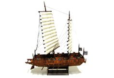 Joseon Navy Battle Ship Free Paper Model Download - http://www.papercraftsquare.com/joseon-navy-battle-ship-free-paper-model-download.html#1100, #BattleShip, #Ship