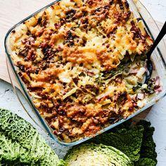 Helppo kinkkukiusaus - Yhteishyvä Lasagna, Macaroni And Cheese, Goodies, Ethnic Recipes, Food, Lasagne, Sweet Like Candy, Treats, Essen