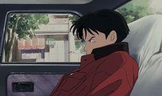 Anime A: quot; 1993 Studio Ghibli on We Heart It Anime Ai, Art Anime, Manga Anime, Anime Guys, Hayao Miyazaki, Aesthetic Gif, Retro Aesthetic, Tamako Love Story, Studio Ghibli Art