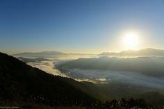 荒谷山 雲海 朝日
