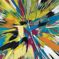 Damien Hirst- This is coming to auction next week - nice mothers day gift!