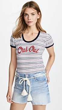 New SUNDRY Oui Oui Girl Tee online. Perfect on the Spiritual Gangster Clothing from top store. Sku goaq33238sfxn32531