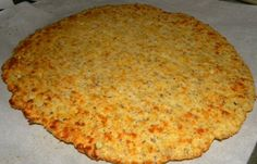 THM (S) - almond flour pizza crust - free paleo recipe Gluten Free Pizza, Gluten Free Recipes, Low Carb Recipes, Diet Recipes, Cooking Recipes, Healthy Recipes, Paleo Pizza, Recipies, Almond Flour Pizza Crust