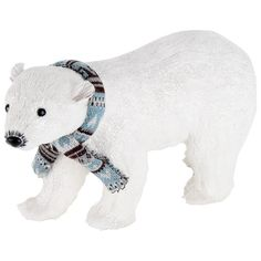 christmas style by inart polar bear christmas - Polar Bear Christmas Decorations
