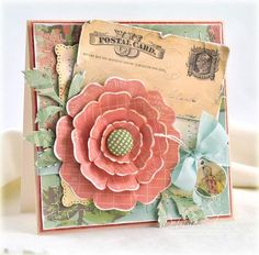 Spellbinders Blossom Three die templates for the flower