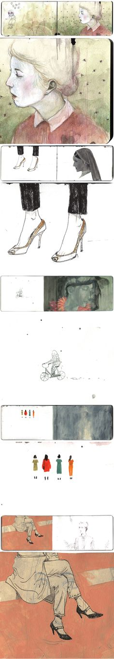 dadu shin's sketchbook