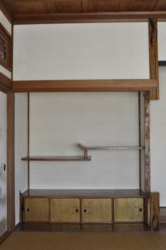 和室書院-漆喰塗り