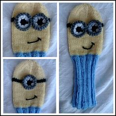 Pattern Despicable Me Minion Golf Club Cover by SundaesShop, $2.00