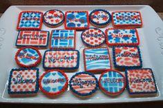 Cupcake Adventures: welcome cookies
