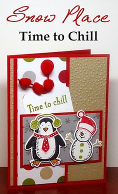 Stampin' Up! Snow Place and Snow Friends Framelits Card - MOJO415 - Create With Christy - Christy Fulk, Stampin' Up! Demo