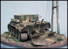 Italeri kit with Monroe Perdu zimmerit Scale Models, Military Vehicles, Studios, War, History, Historia, Army Vehicles, Scale Model