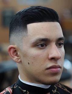 Side Part Fade Haircut