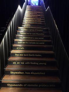 Om vi får en trapp.
