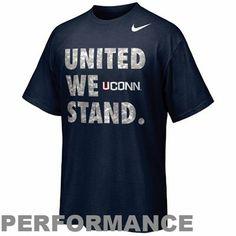 c5ae0af103 Nike UConn Huskies 2012 United We Stand Performance T-Shirt - Navy Blue