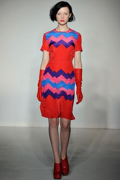 house of holland fall RTW 2012