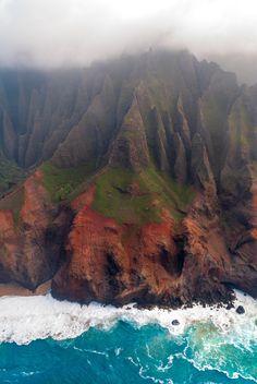Nā Pali Coast Hawaii