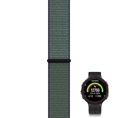 Buy JOY Compatible with Garmin Forerunner Replacement Band with Pin and Removal Tool, Sport Watch Band Nylon Weave with Hook&Loop Fastener - Midnight Fog, M Running Gps, Hook And Loop Fastener, Removal Tool, Sport Watches, Watch Bands, Weave, Joy, Watch Straps, Happiness