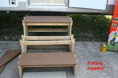 Best Details About Portable Rv Deck With Steps And Railings An Rv Home Camper Steps Diy Rv 400 x 300