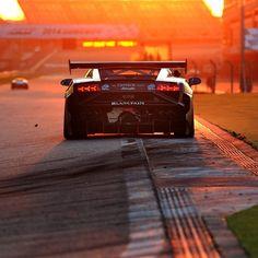 Racing the sun. #Lamborghini Blancpain #SuperTrofeo in Asia at Shanghai International Circuit. #LBSTA #race #supercar #sport