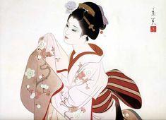 日本の私が好きな美人画家 志村 立美