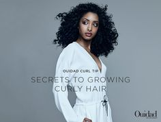 Want long curly hair? These tips can help!