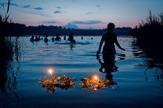 Ivan Kupala Day (Midsummer) Kupala Night, also known as Ivan Kupala Day. It is celebrated on the night of 23/24 June. Calendar-wise, it is opposite to the winter holiday Koliada. The celebration relates to the summer solstice when nights are the shortest and includes a number of Slavic rituals.