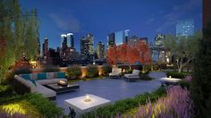 Take a tour of landscape and design ideas from high-end urban dwellings and resorts.