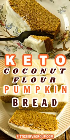If you're looking for the perfect way to celebrate pumpkin season, look no further! This keto coconut flour pumpkin bread is features warm spices like cinnamon, nutmeg, ginger, and clove for the ultimate low-carb coconut flour pumpkin bread. It's tree-nut-free, gluten-free, grain-free, and low in carbs making it keto-friendly! gluten-free pumpkin bread| nut-free pumpkin bread