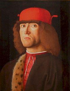 Venice, The Republic of Venice Marco Marziano, before 1507: Portrait of a Man Paris, The Louvre Museum