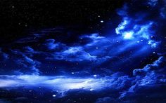 beautiful night sky | Nice artistic depiction of the night sky.