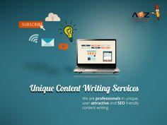 Unique Content Writing Services