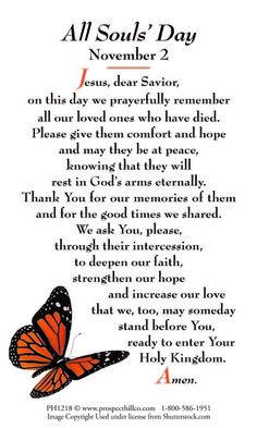 all soul's day prayer