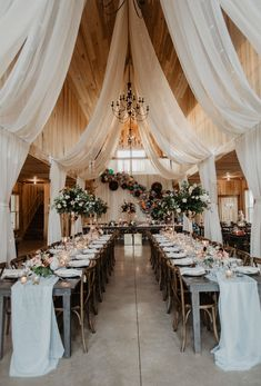 Rustic Wedding Ideas With A Touch of Glamour - Belle The Mag.- Rustic Wedding Ideas With A Touch of Glamour – Belle The Magazine Rustic Chic Wedding Reception Decor with ceiling draping installation- Photography by Wild Native Co. Perfect Wedding, Our Wedding, Dream Wedding, Arch Wedding, Summer Wedding, Wedding Rings, Wedding Dresses, Trendy Wedding, Modern Wedding Ideas