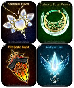 Magic items adopts 14 (OPEN) Offer your price by Rittik-Designs