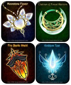 Magic items adopts 14 (CLOSED) by Rittik-Designs on DeviantArt