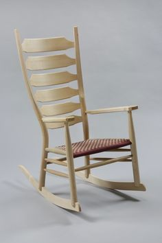 Our greenwood rocking chair is a classic post-and-rung chair grown from ancient woodworking techniques. Designed by Brian Boggs; handmade in North Carolina.