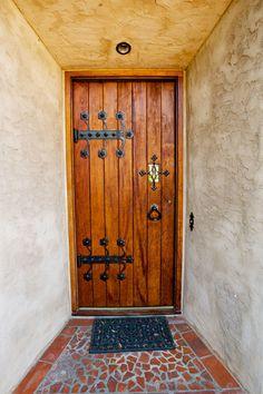 Spanish revival doors on pinterest spanish revival for Door in spanish