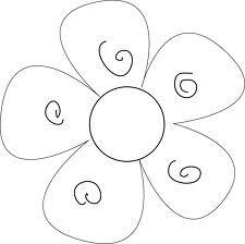 Flower outline Flower Outline, Patch Aplique, Utila, Flower Template, Yahoo Images, Image Search, Symbols, Baby Shower, Letters