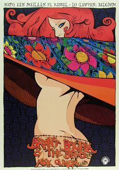 Malleus Brant Bjork Poster / One of my favorite posters of one of my favorite artists