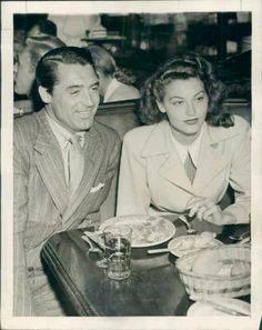 Cary with Ava Gardner