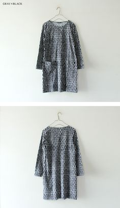 [marimekko] TAOS Basic Style, Cool Style, My Style, Marimekko Dress, Diy Fashion, Nordic Fashion, Fashion Ideas, Fashion Collage, Layering Outfits