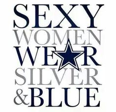 Sexy women wear Silver and Blue