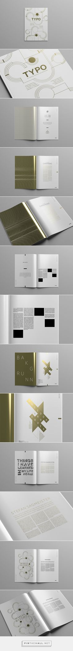 A good layout, designed to be spacious and clean. This beings across a modern feel. The foil print adds to the sophisticated modern theme.