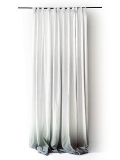 Dressing room!!!Ombre White Linen curtain panels. Pinch pleat by LovelyHomeIdea, $248.00
