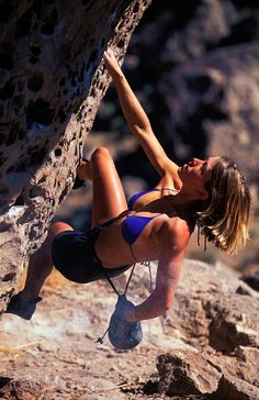 Coreyrich: Rikki Ishoy, pretry woman rock climbing, bouldering The Happy Boulders, Bishop CA