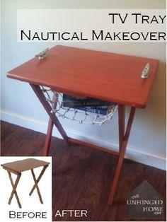 Nautical End Table